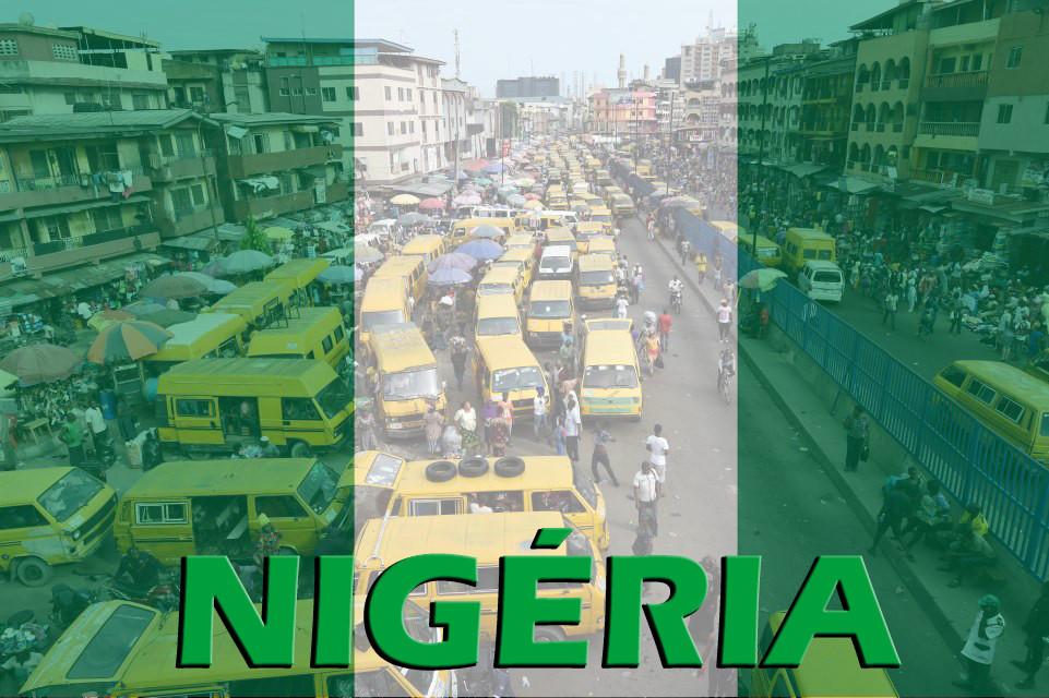 Foto: Lagos - Bandeira da Nigéria