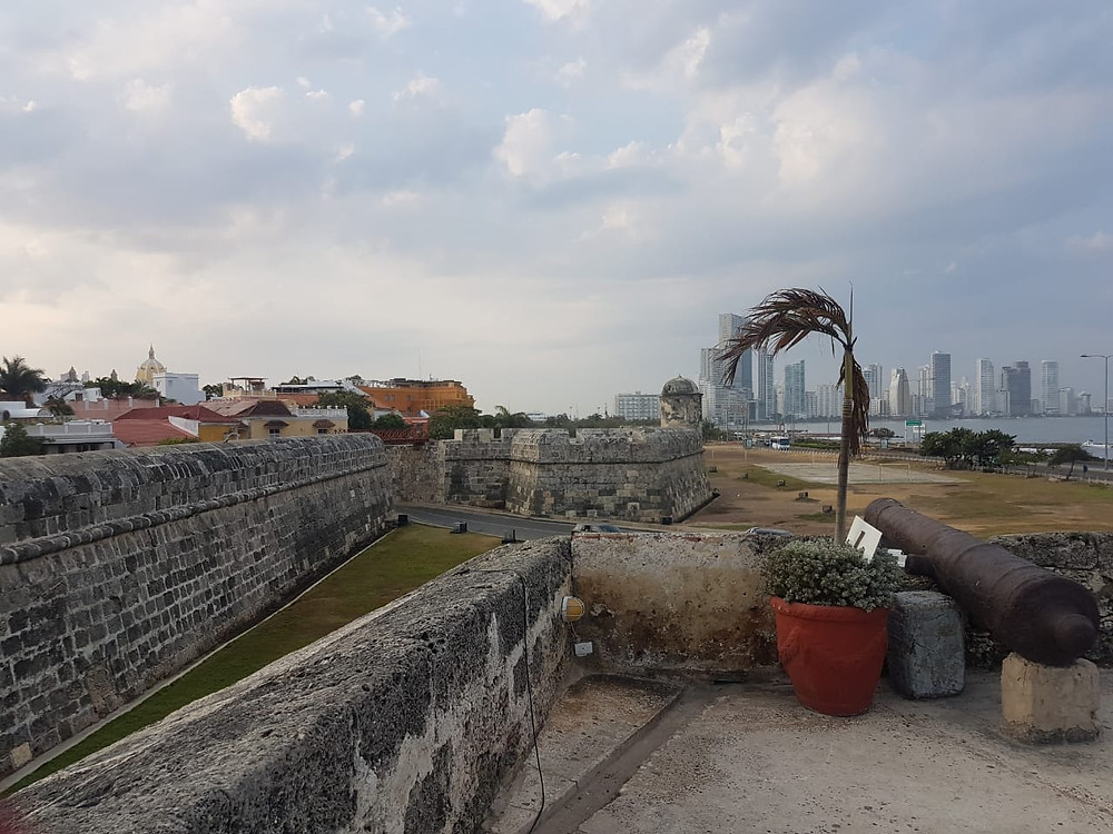 Cartagena - fortaleza San Filipe de Barajas