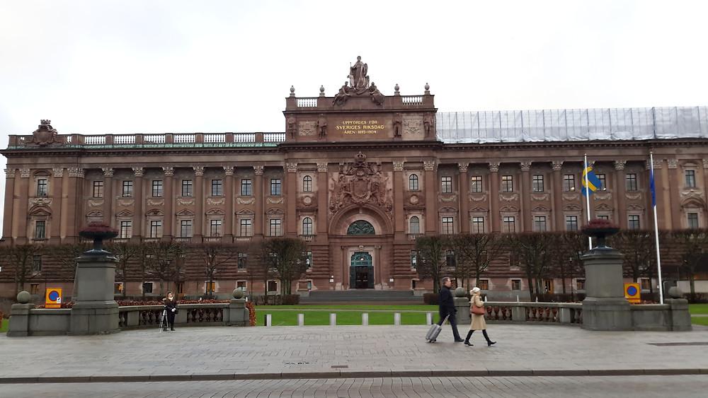 Estocolmo - Parlamento Sueco