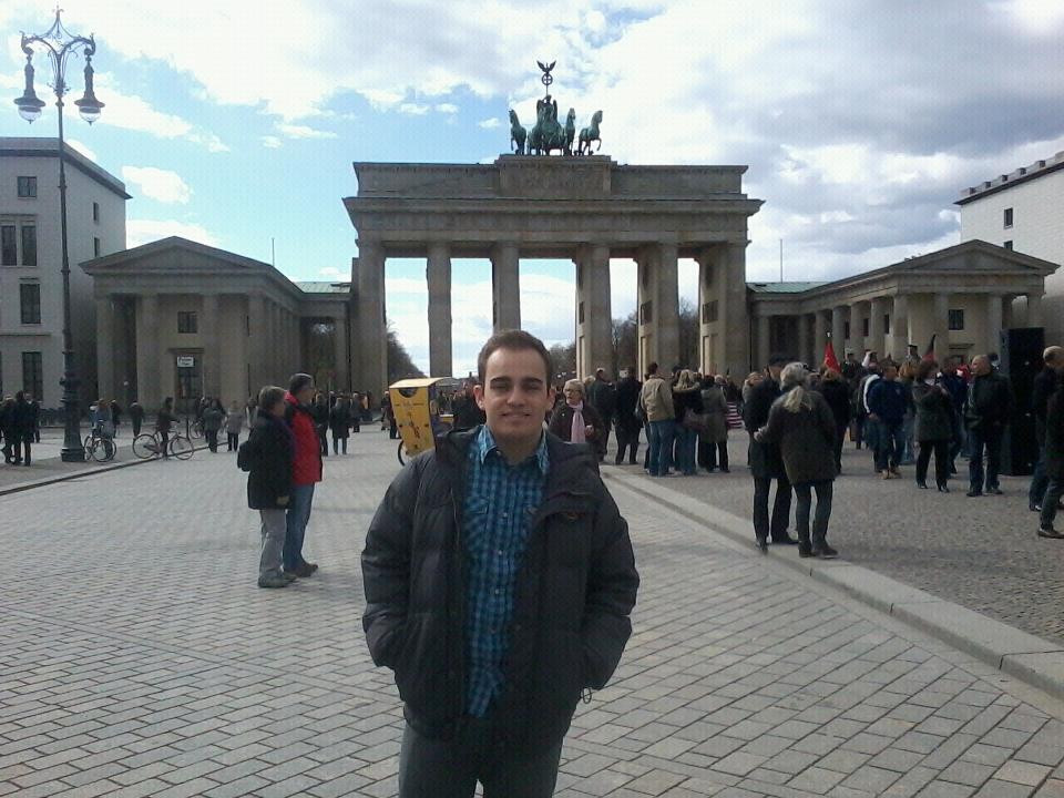Raphael em Berlim - Portal de Brademburgo