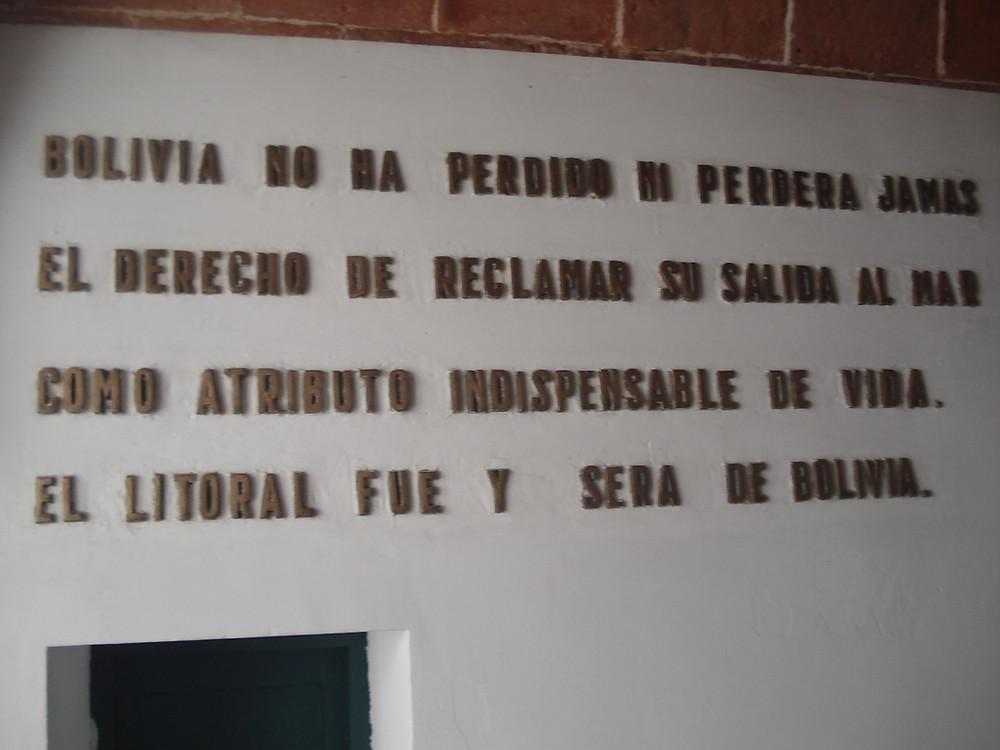 MUSEU DO LITORAL BOLIVIANO