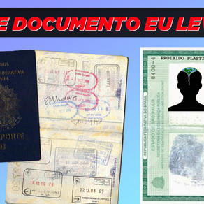 Vai viajar? Leva o Documento!