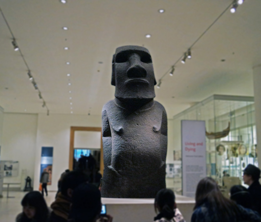 Moai - Museu Britânico