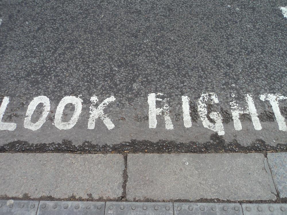 Marcação rua de Londres