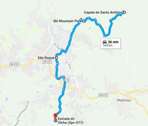 Mapa de São Roque