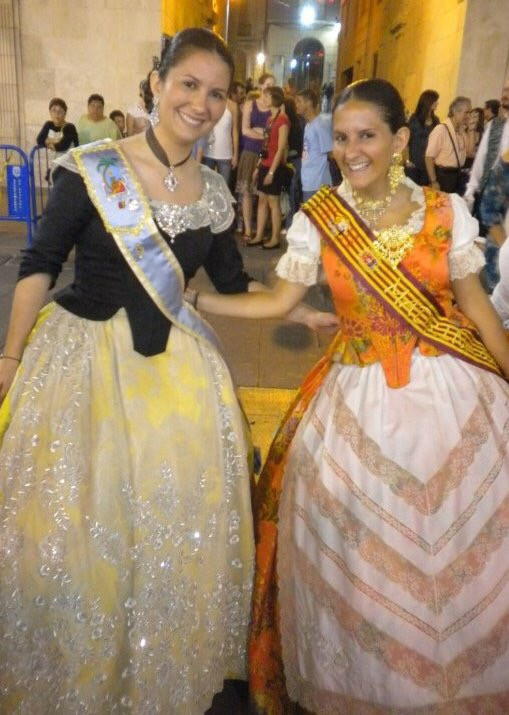 Foto: Yolanda com Trajes típicos de Alicante