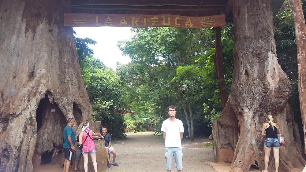 Entrada La Aripuca