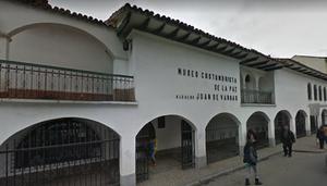 Foto do Google Street View - Fachada do Prédio Museo Costumbrista