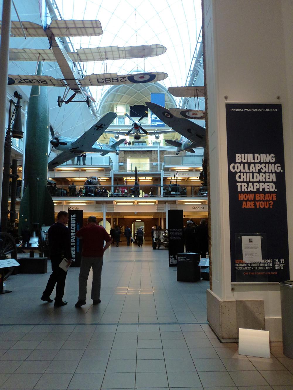 Exposição Imperial War Museum