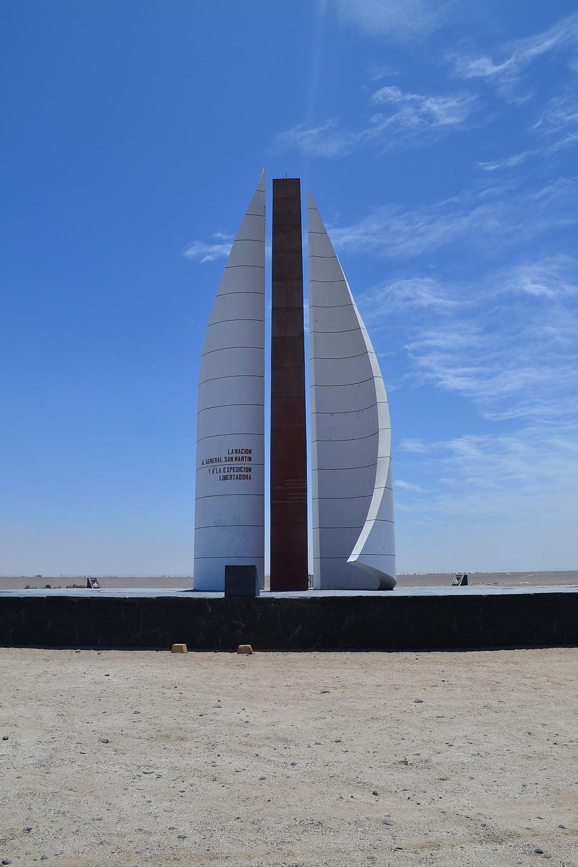Monumento a chegada de San Martin
