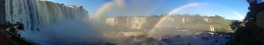 Cataratas do Iguaçu - Foto panoramica
