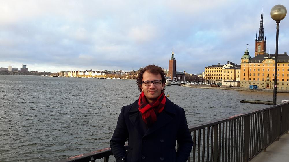 Paulo em Lund - Suécia