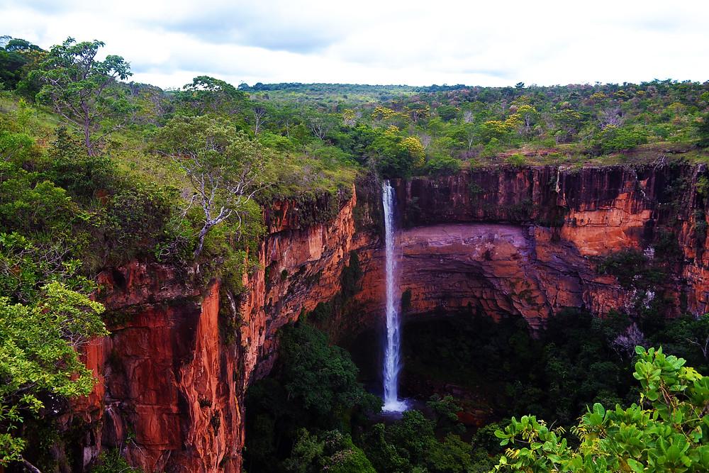 A Cachoeira Véu da Noiva