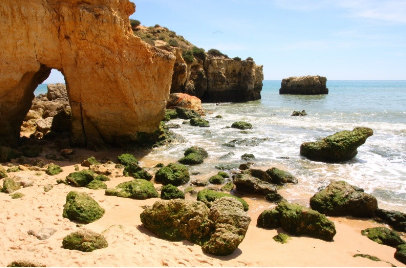 FOTO: Praia em Algarve