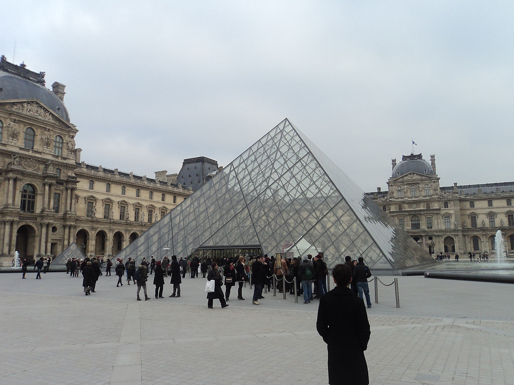Entrada do Louvre