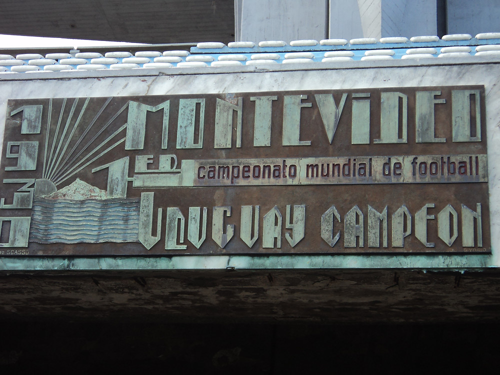 Placa Estadio Centenário