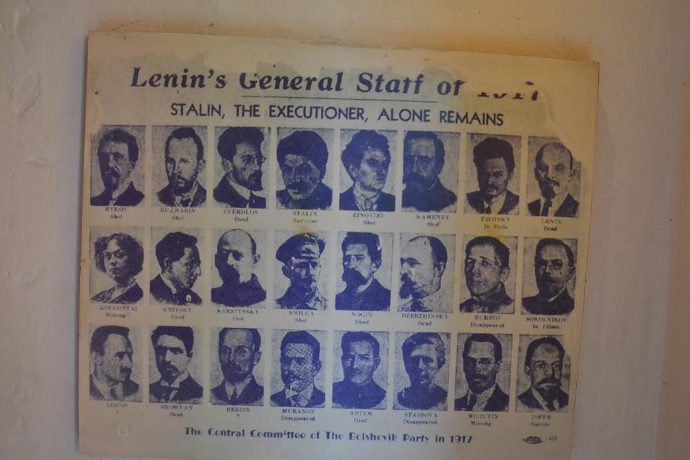 Rostos do partido Comunista