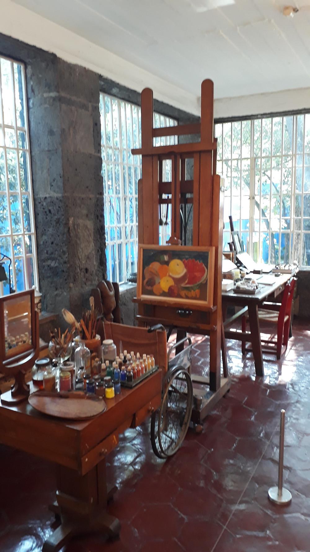 Estúdio de Frida