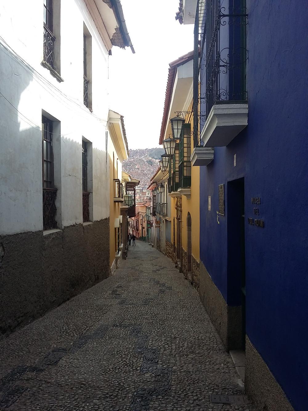 Calle La Jáen - La Paz