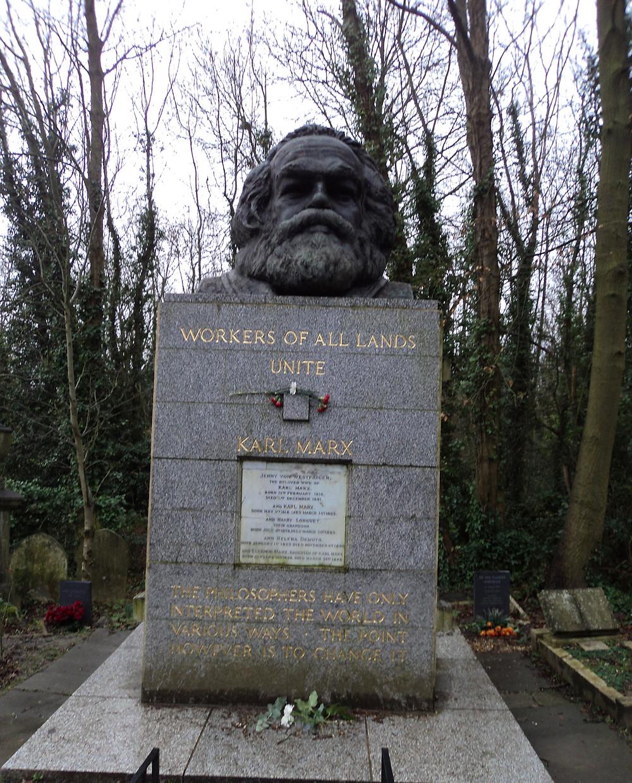 Tumulo Karl Marx
