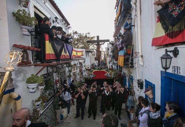 Foto da Celebra~~ao da Semana santa em Alicante.