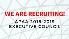 APAA 2018-2019 Council Recruitment