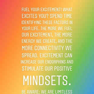 Fuel your Excitement! Spread the shine!