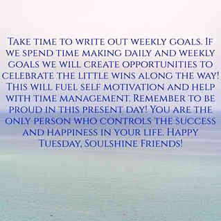Create Daily Goals