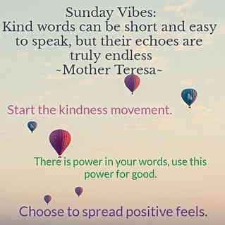 Spread the kindness this week! Choose to