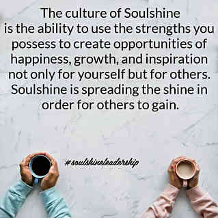 The Culture of Soulshine