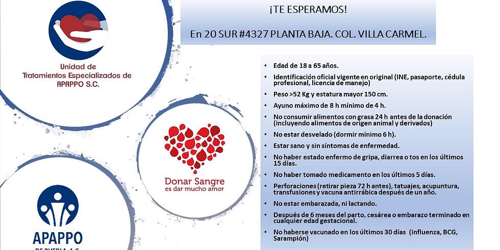Requisitos de Donadores de Sangre