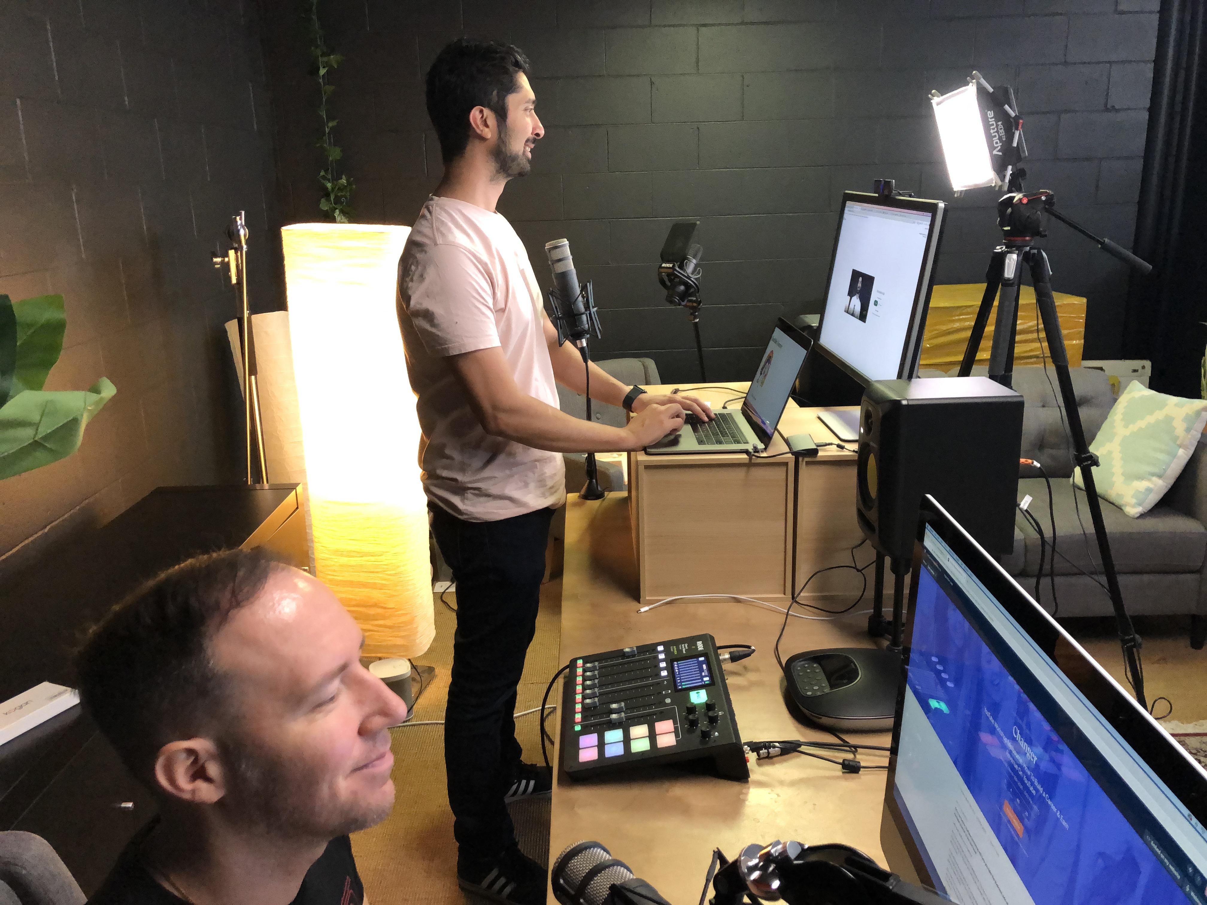 Online Seminar Broadcast Room