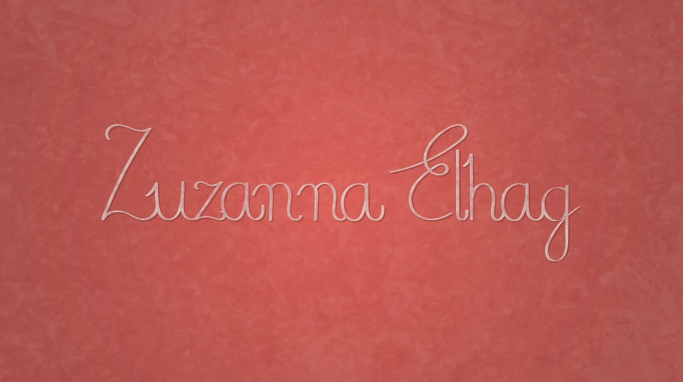 Zuzanna Elhag animation showreel