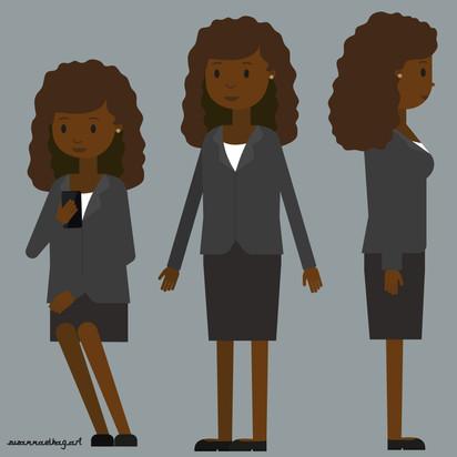Kelaa Phone app | Main female character
