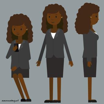 Kelaa Phone app   Main female character
