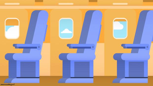 Kelaa Phone app | Interior plane side view