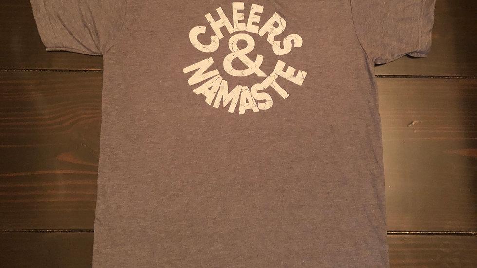 Cheers & Namaste - T-shirt