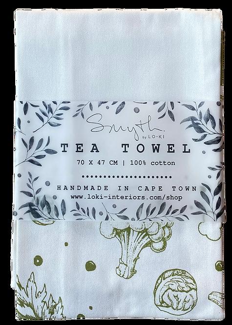 Root Tea Towel - Cotton