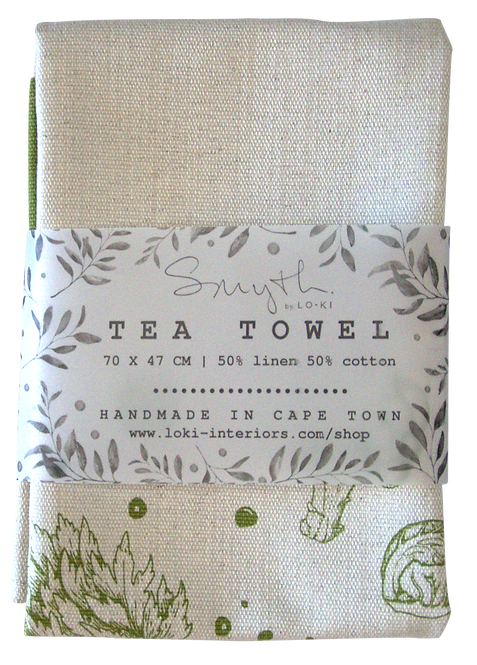 Root Tea Towel