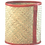 Thumbnail: Leather Trim Wastepaper Basket