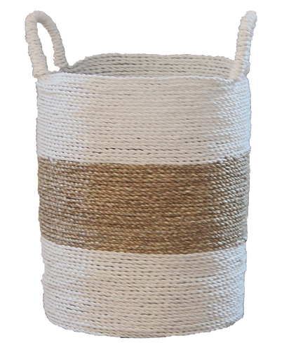 Natural White Basket