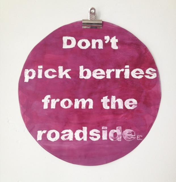 Berries, Scope Miami Beach 2014