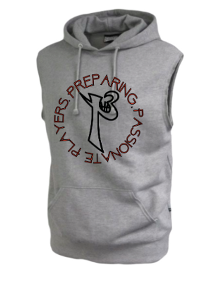 Classic Logo Sleeveless Fleece Hoodie
