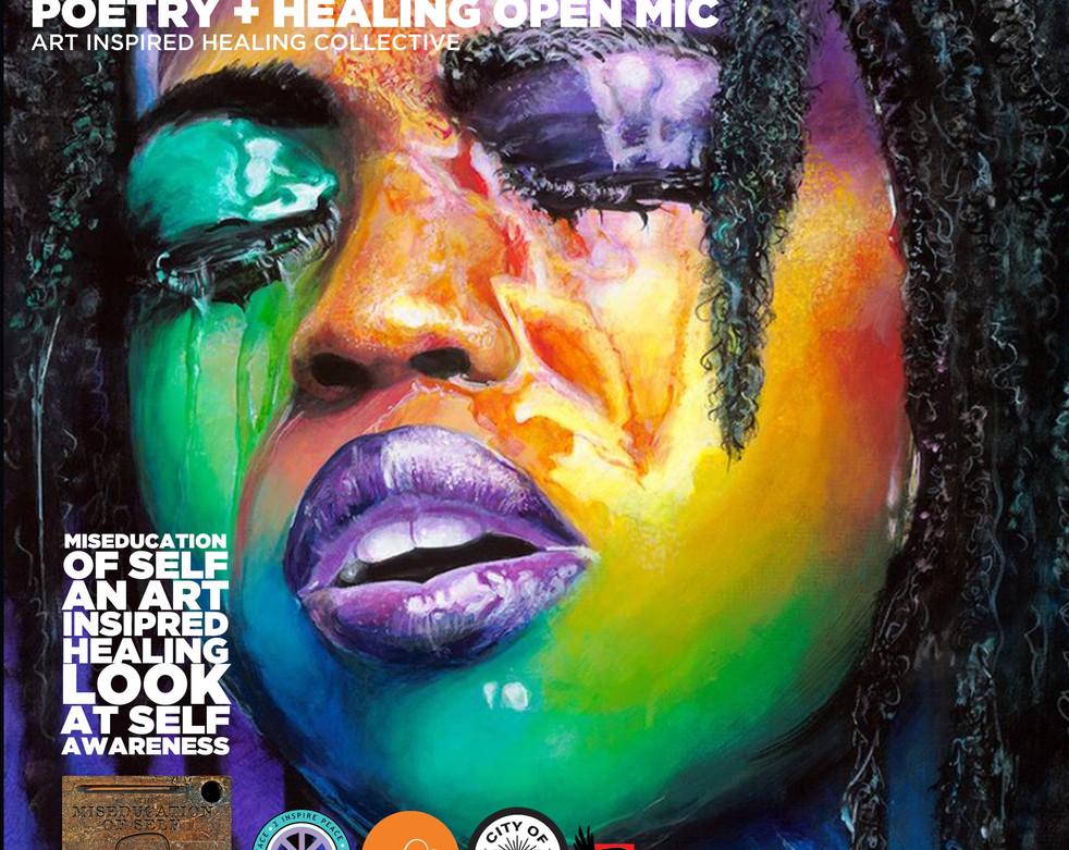 PH Balance Poetry + Healing Open Mic