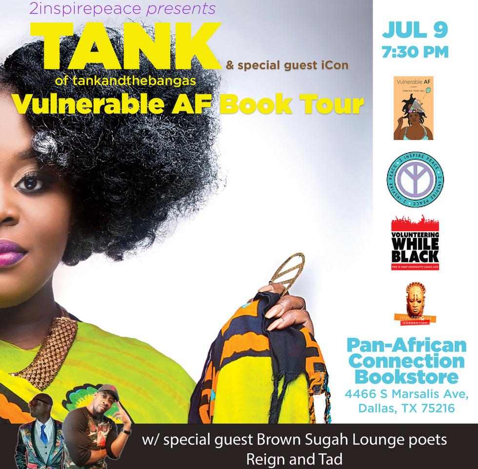 Vulnerable AF Book Tour