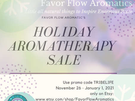 Holiday Aromatherapy Sale