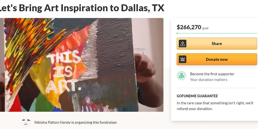Let's Bring Art Inspiration to Dallas, TX