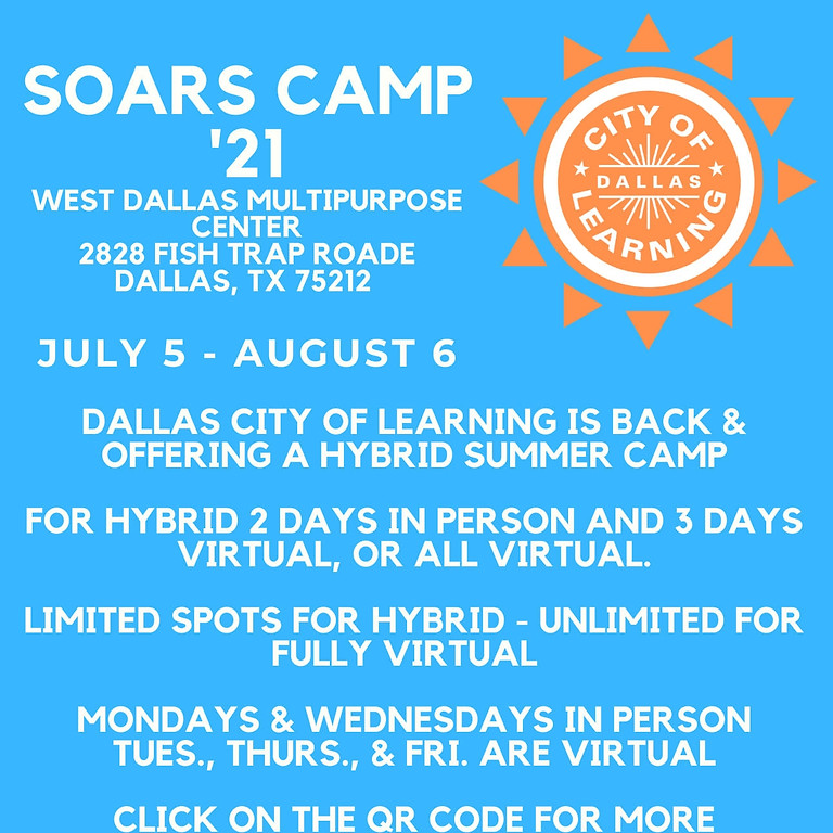 Dallas City of Learning SOARS Camp