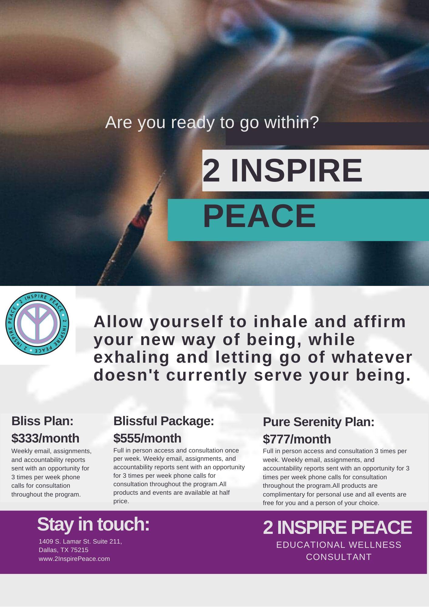 2 Inspire Wholeness: Healing Journey