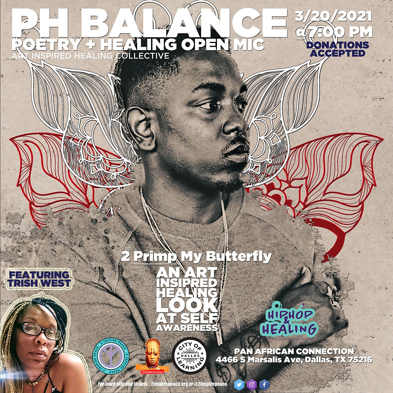 The PH Balance Poetry & Healing Open Mic featuring The 2 Primp My Butterfly All Stars